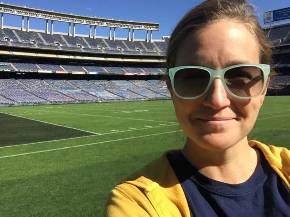 Selfie at Qualcomm Stadium San Diego