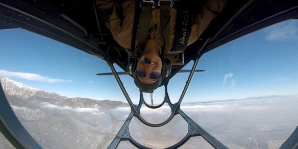 Upside Down in a Warbird via Aviator Flight Training