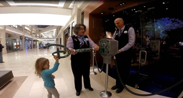 Opening the Disney Store at MOA
