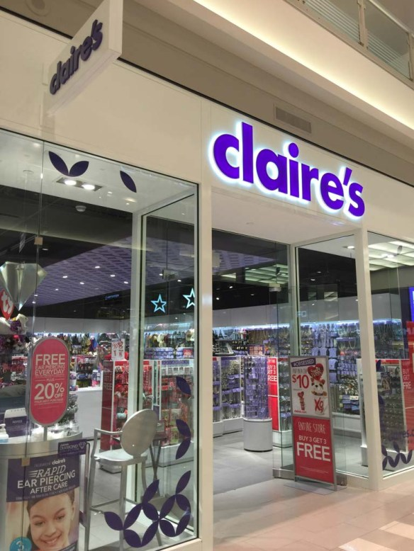 Claire's at Mall of America