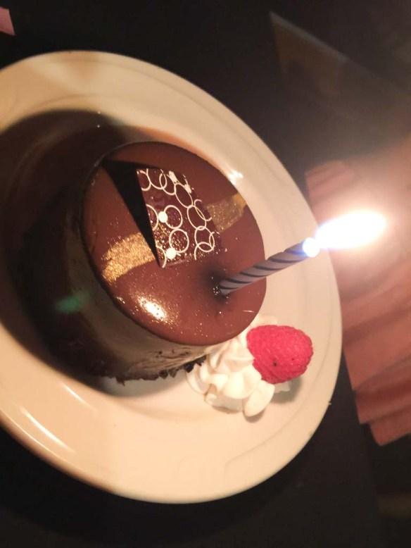 Dessert on Hornblower Cruises, Newport Beach, California