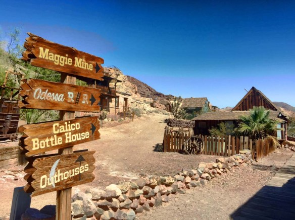 Calico Ghost Town near Barstow, California