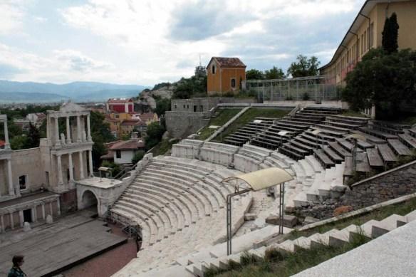 Roman stadium, Plovdiv, Bulgaria