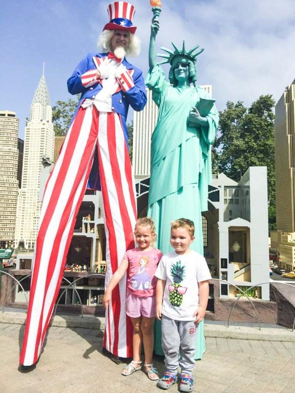 Legoland MinilandUSA Freedom Tower Opening