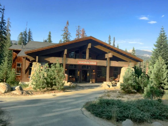 Wuksachi Lodge, Sequoia National Park, California