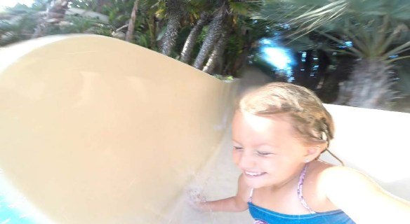 Hyatt Regency Mission Bay water slides