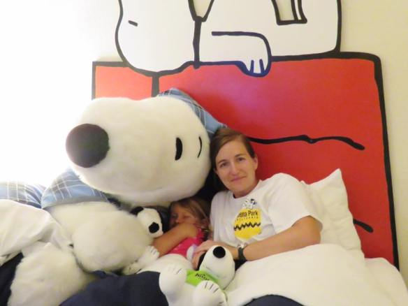 Snoopy Visit at Knott's Berry Farm Hotel