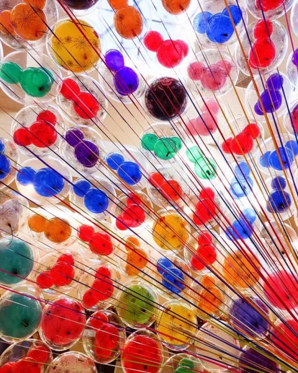 Balloons at South Coast Plaza