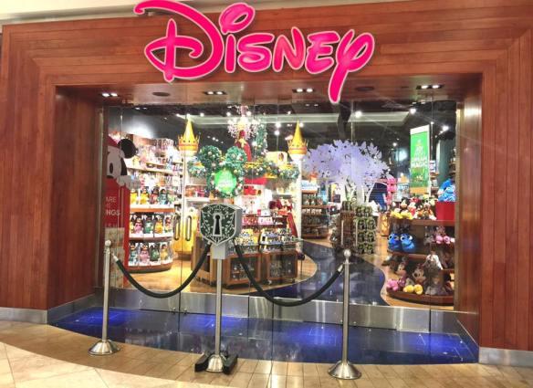 Disney Store, South Coast Plaza, California