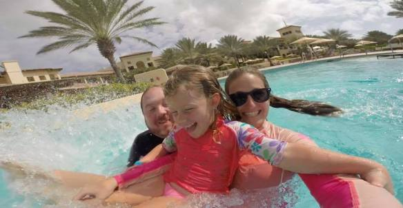 Pool fun at Santa Barbara Beach & Golf Resort Curacao