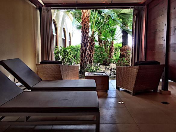The spa at Santa Barbara Beach & Golf Resort