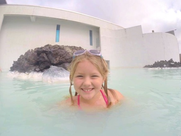 The Blue Lagoon, Iceland with Kids