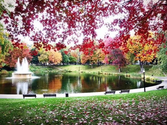 Parc La Fontaine, Montreal, Quebec, Canada