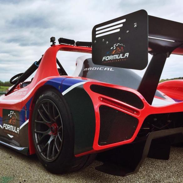 Formula Experiences cars