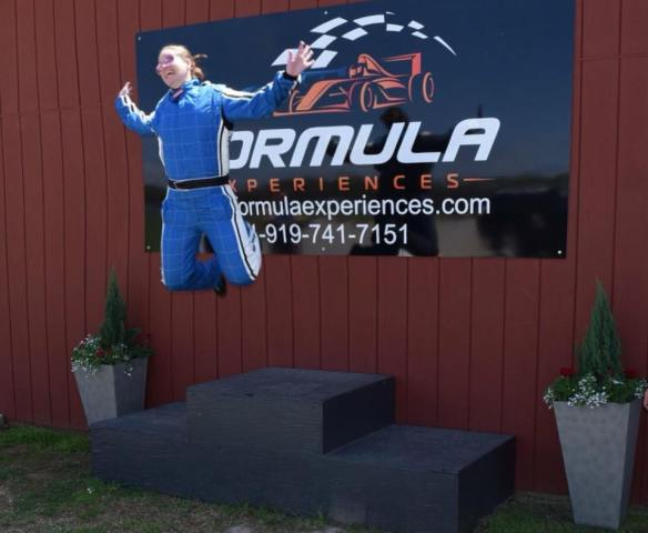 Excitement at Formula Experiences