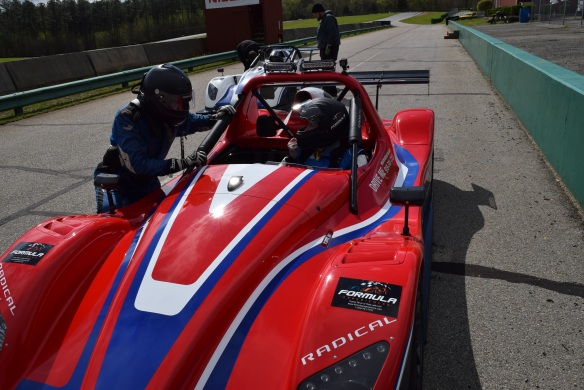 Formula Experiences driving instruction